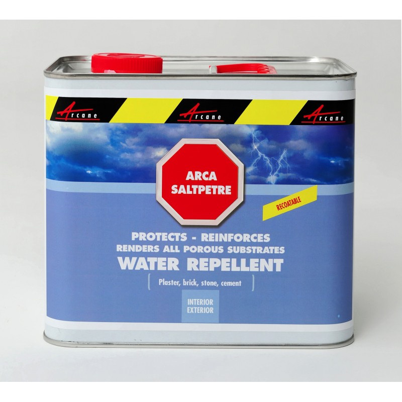 ARCASALTPETRE   Treat Walls Deteriorated By Saltpetre And Dampness, Repair,  Restore And Protect Plaster