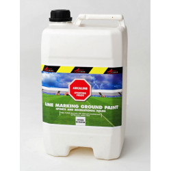 ARCALINE - Football Rugby ground paint Golf events temporary ground marking Publicity logos Recreational fields
