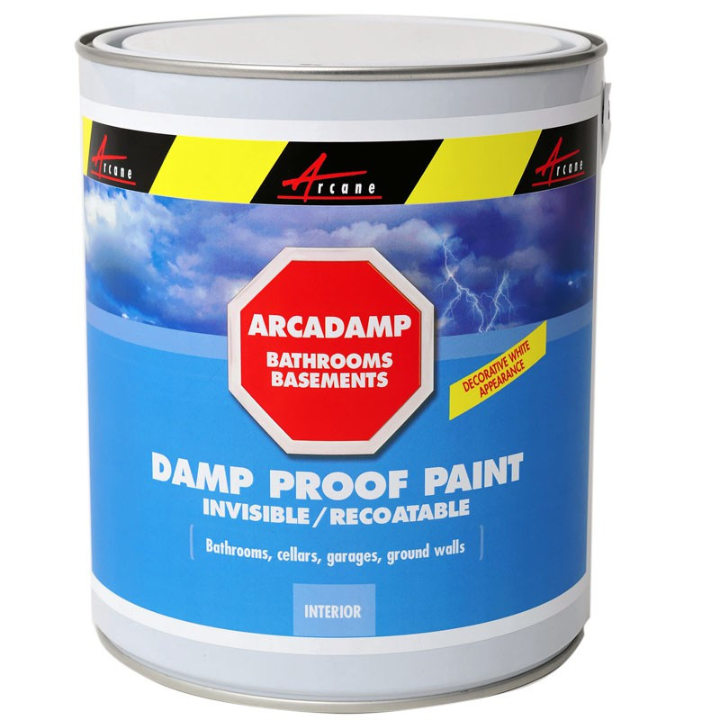 Permanent Fixes For Damp Basements: Damp Proof Paint Eliminates Damp In Bathrooms And Basements, Cures And Prevents Dampness