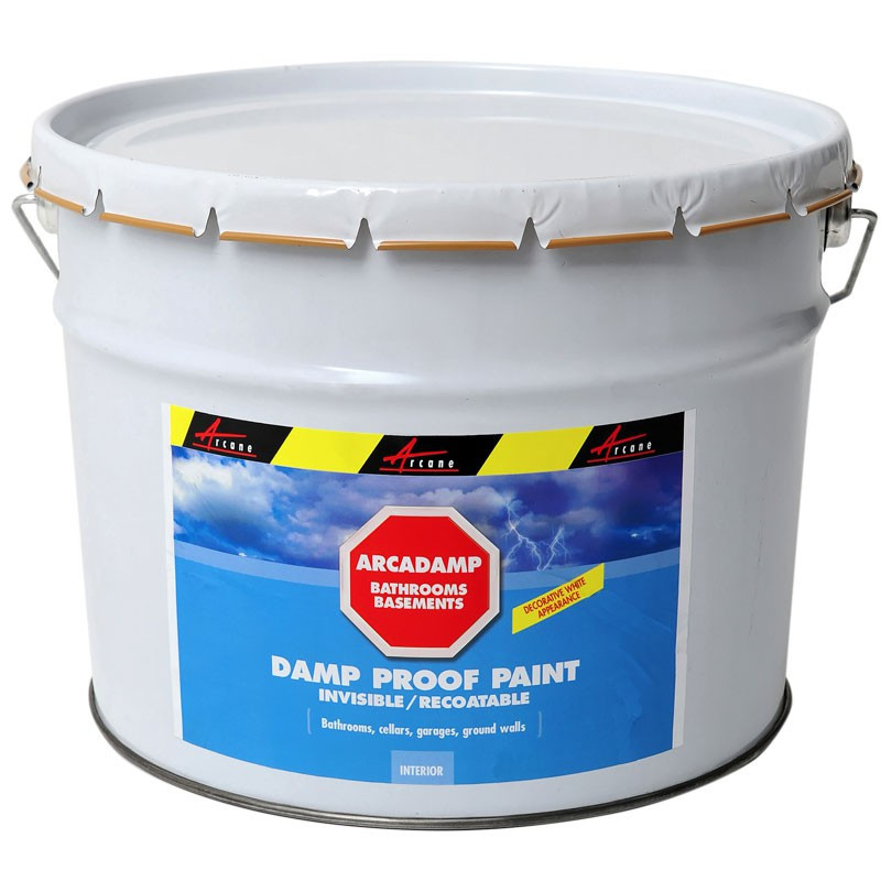 Damp Proof Paint Eliminates Damp In Bathrooms And