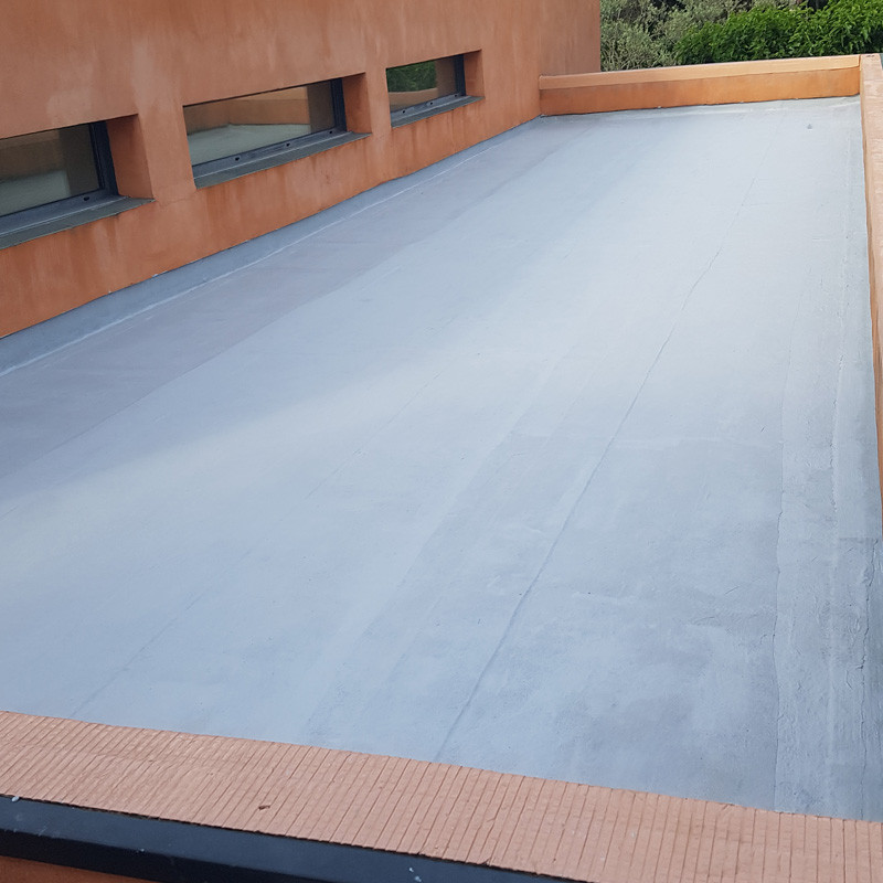 Long Lasting Waterproofing Membrane For Flat Roofs Patios