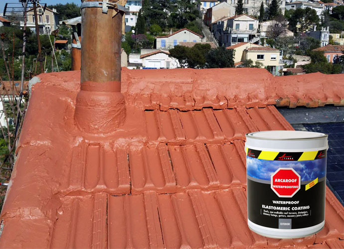 Waterproofing Membrane Waterproof Roof Sloped Roof Roof